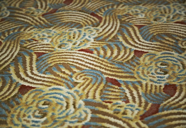 Desso custom made Axminster carpet at Queen Elizabeth